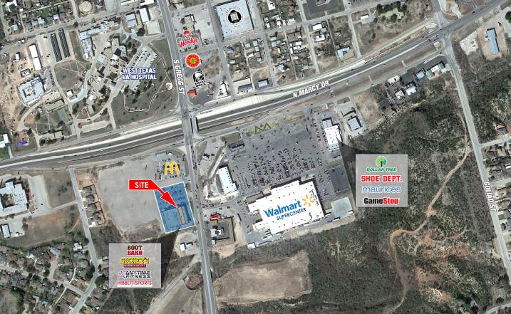 Big Spring site plan image