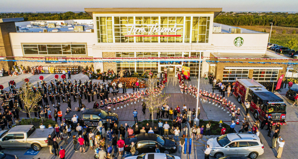 Heath Town Center opening image